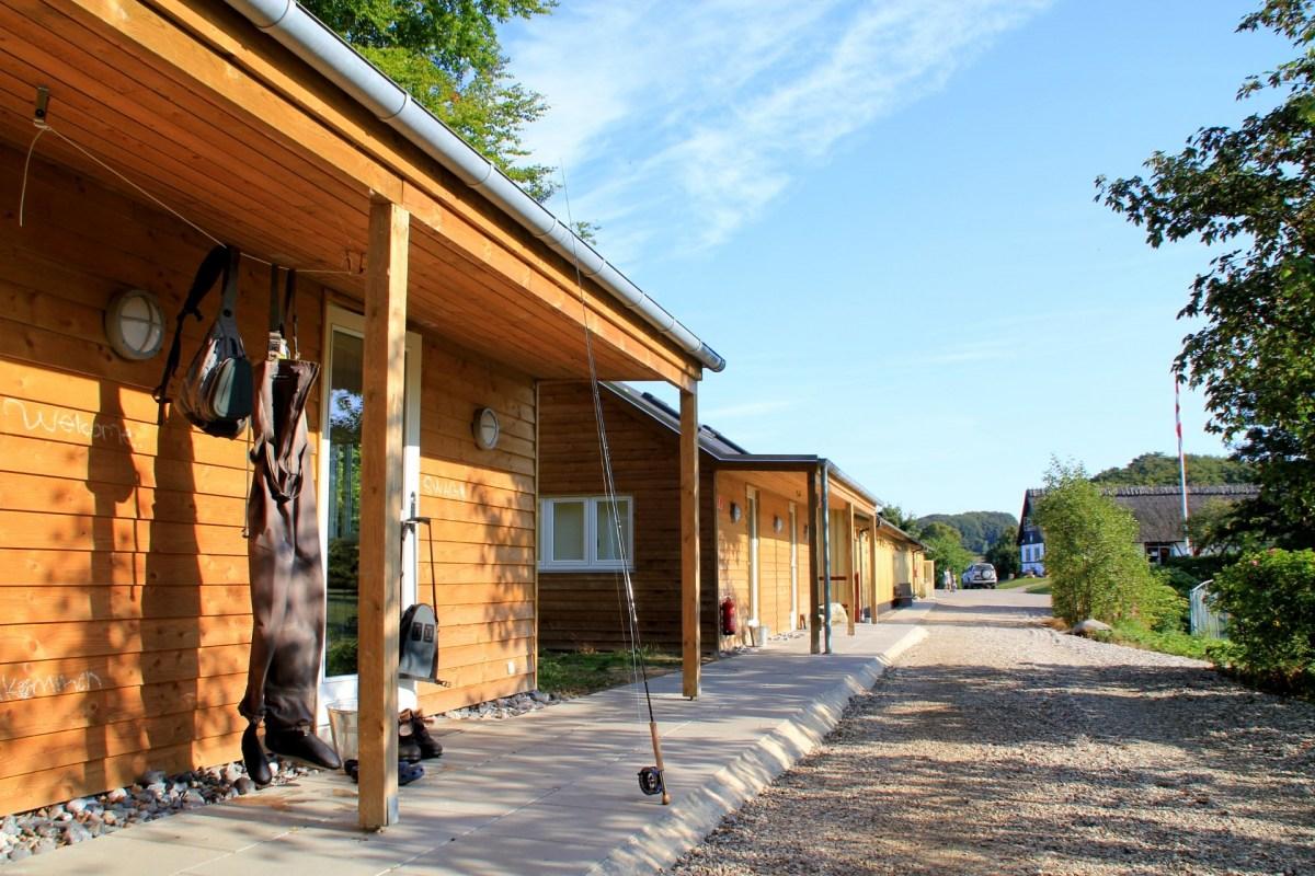Camping-Hütte für Angler in Dänemark