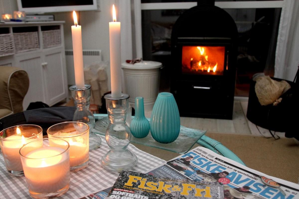 Ferienhaus für Angler in Dänemark mit Kaminofen