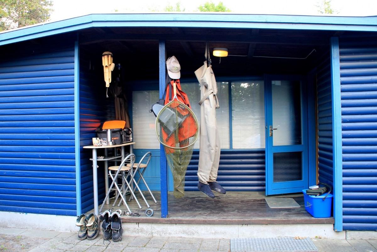 Ferienhaus für Angler in Dänemark mit Terrasse
