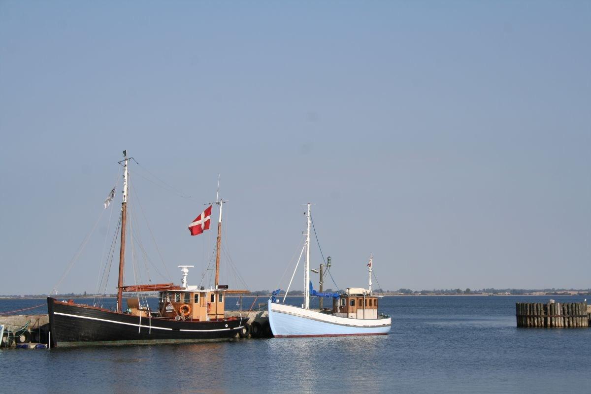 Im Hafen von Stubbekøbing