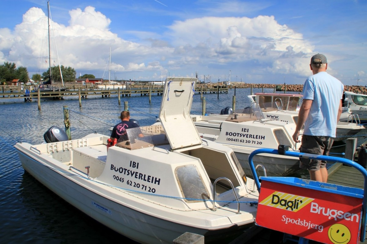 charterboot in spodsbjerg bei IBI bootsverleih