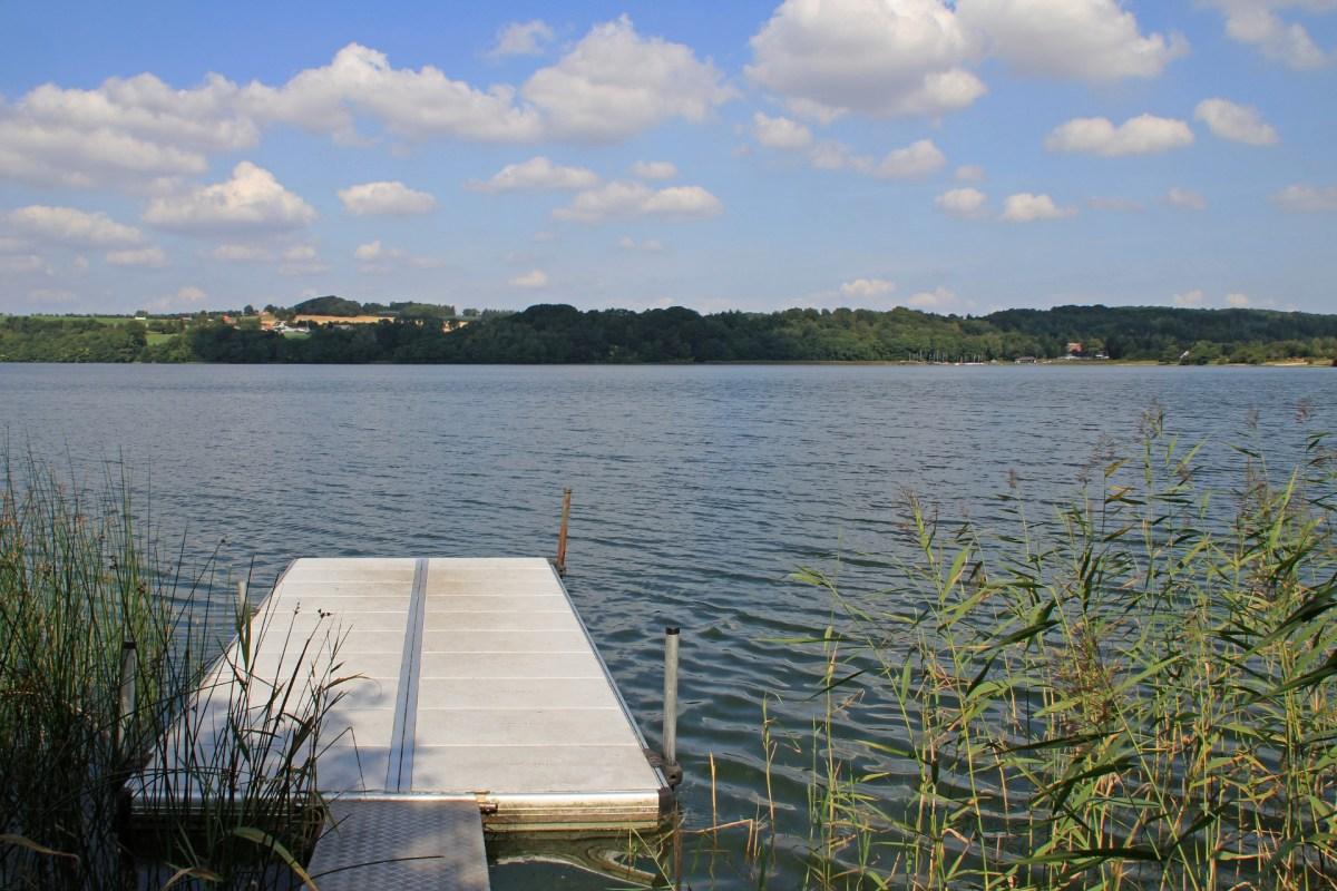 Der Knudsø in der Silkeborger Seenplatte
