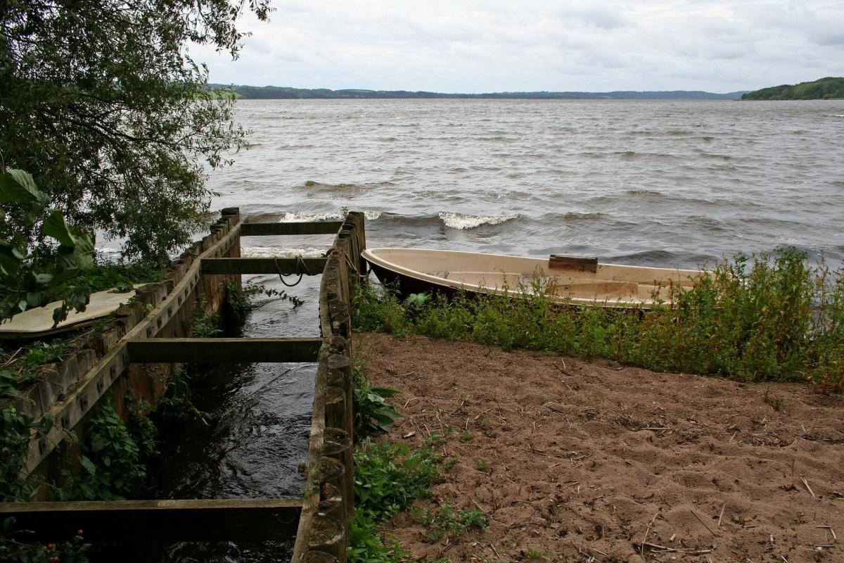 Der Mossø in der Silkeborger Seenplatte