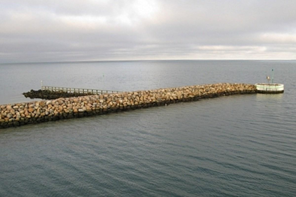 Angelplatz  Vesterø Mole (West) auf Læsø