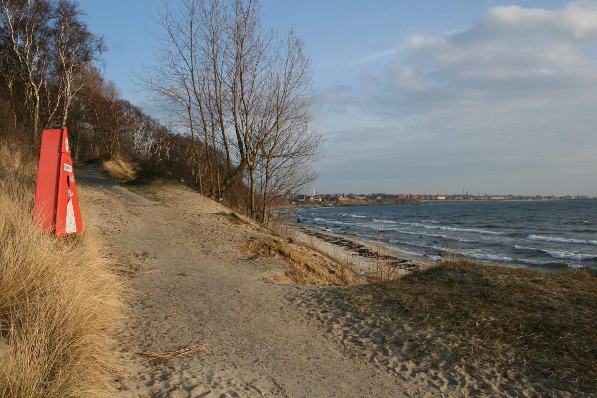 Angelplatz Hvide Odde auf Bornholm