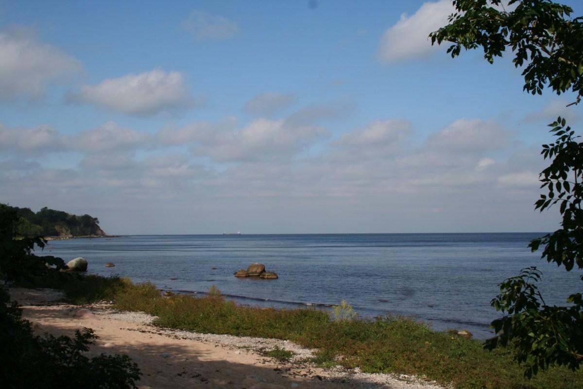 Angelplatz Salene Bucht auf Bornholm