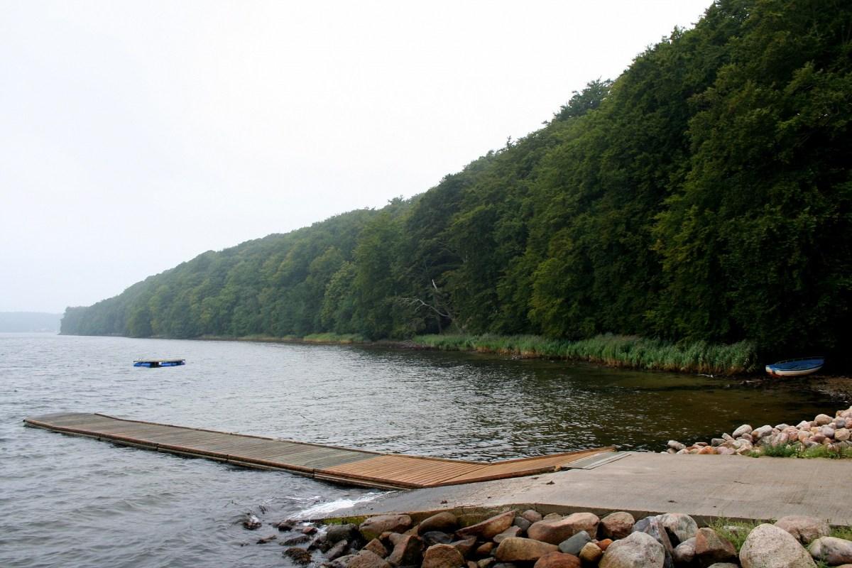 Angelplatz Kollund Mole im Flensborg Fjord
