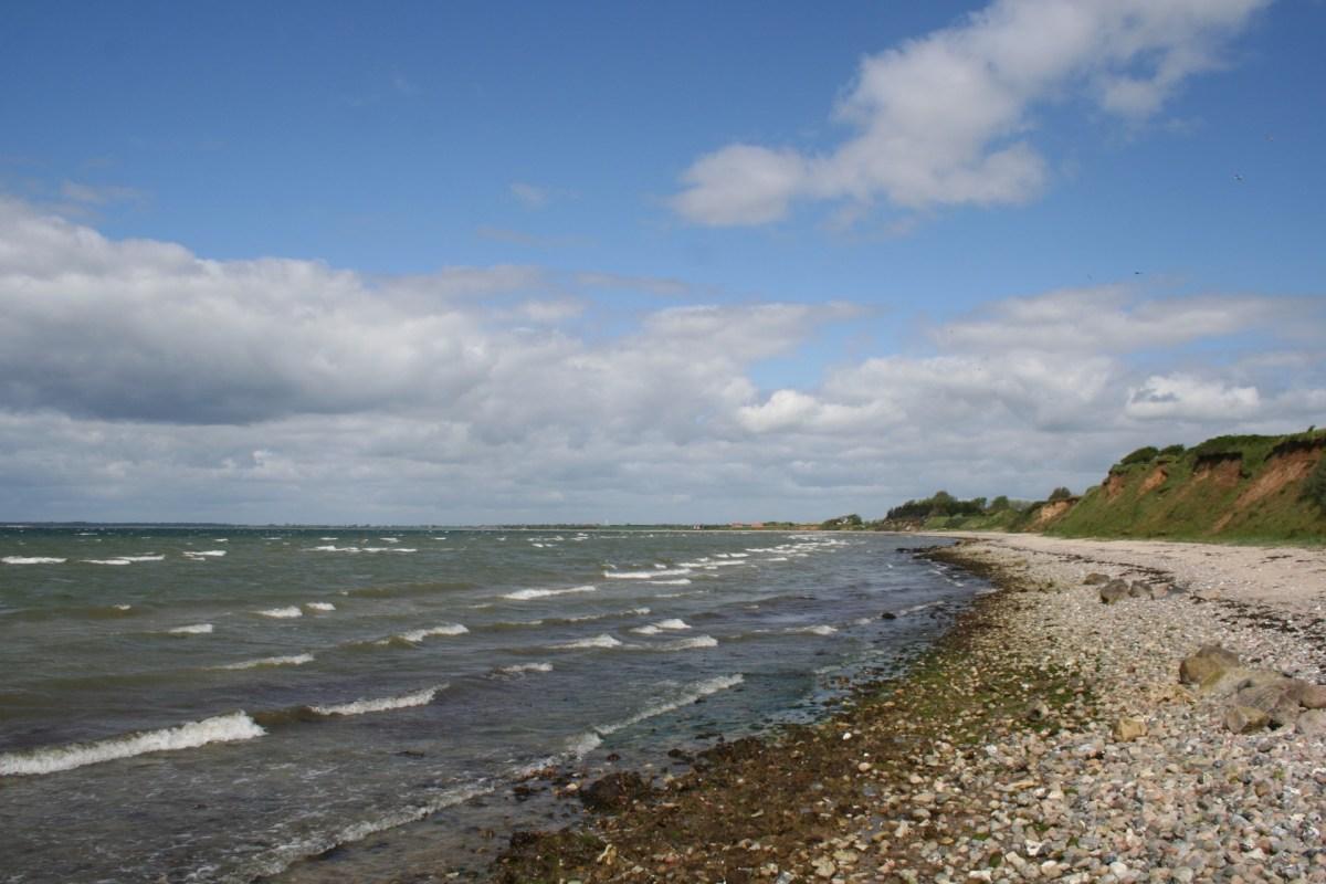 Angelplatz Aborg Strand auf Fünen