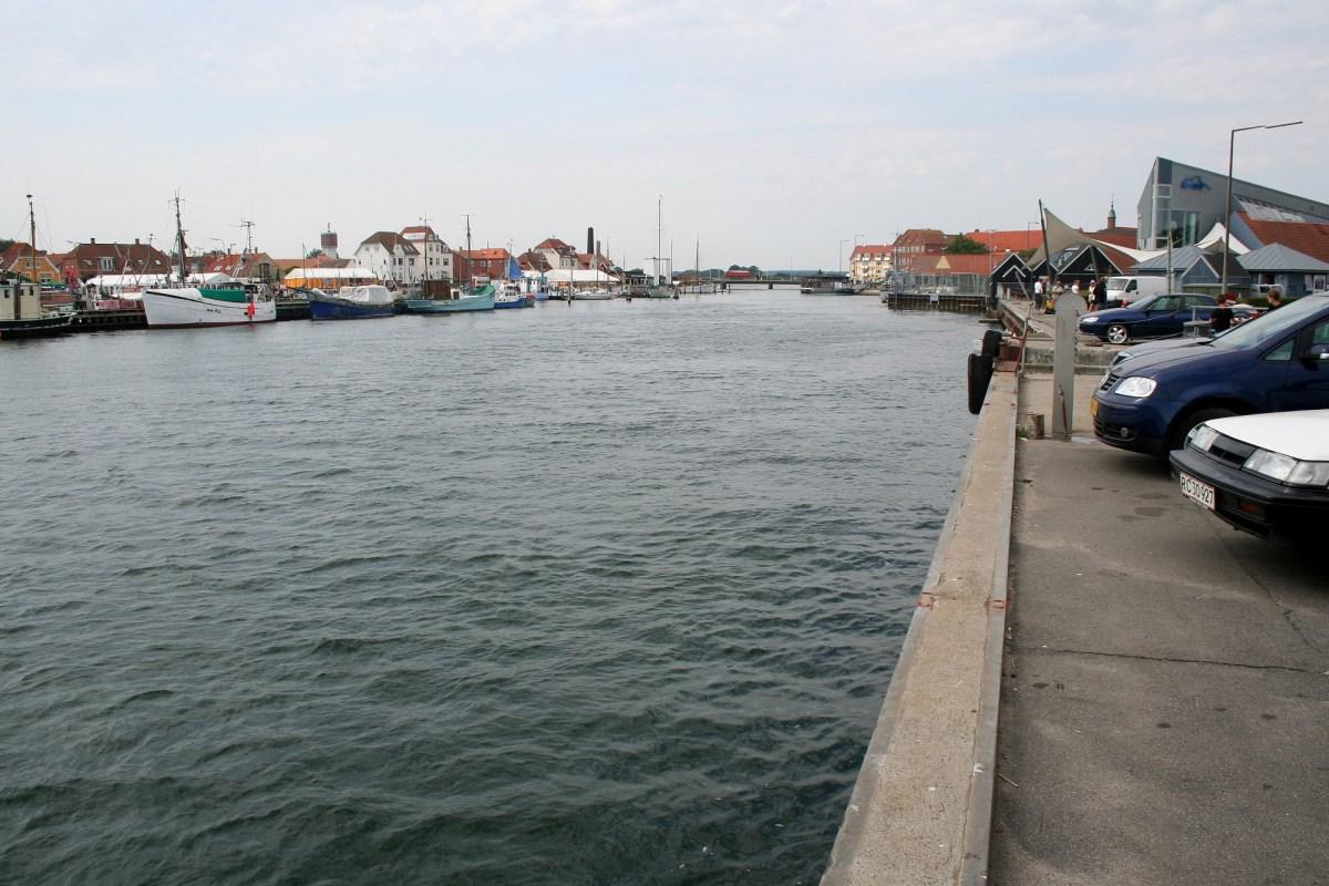 Angelplatz Kerteminde Hafen auf Fünen