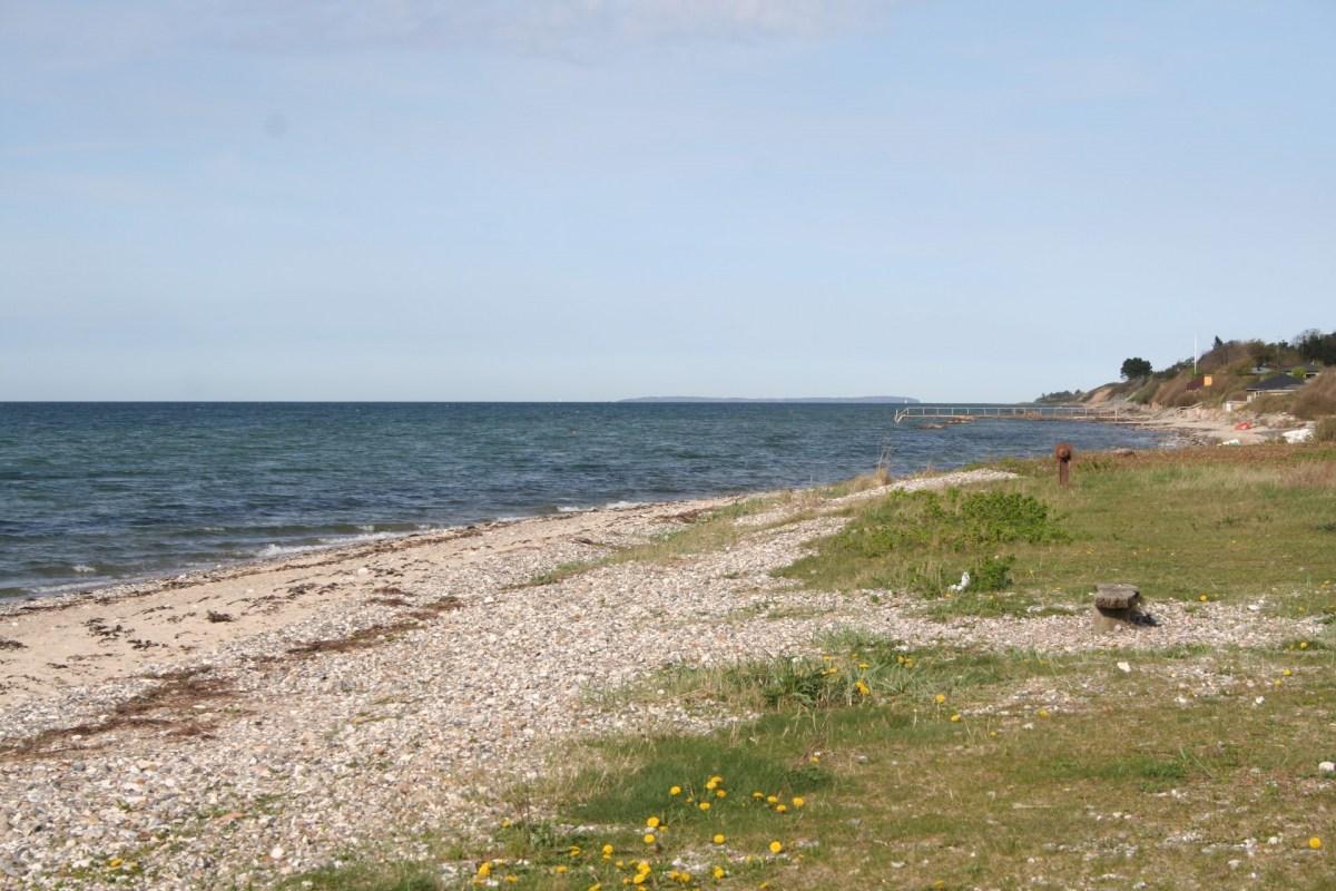 Angelplatz Varbjerg Strand auf Fünen