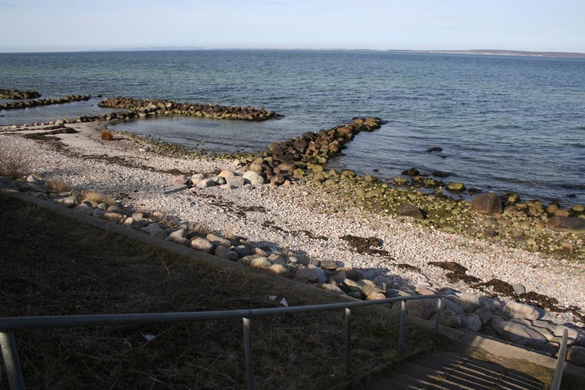 Angelplatz Hellebæk auf Seeland