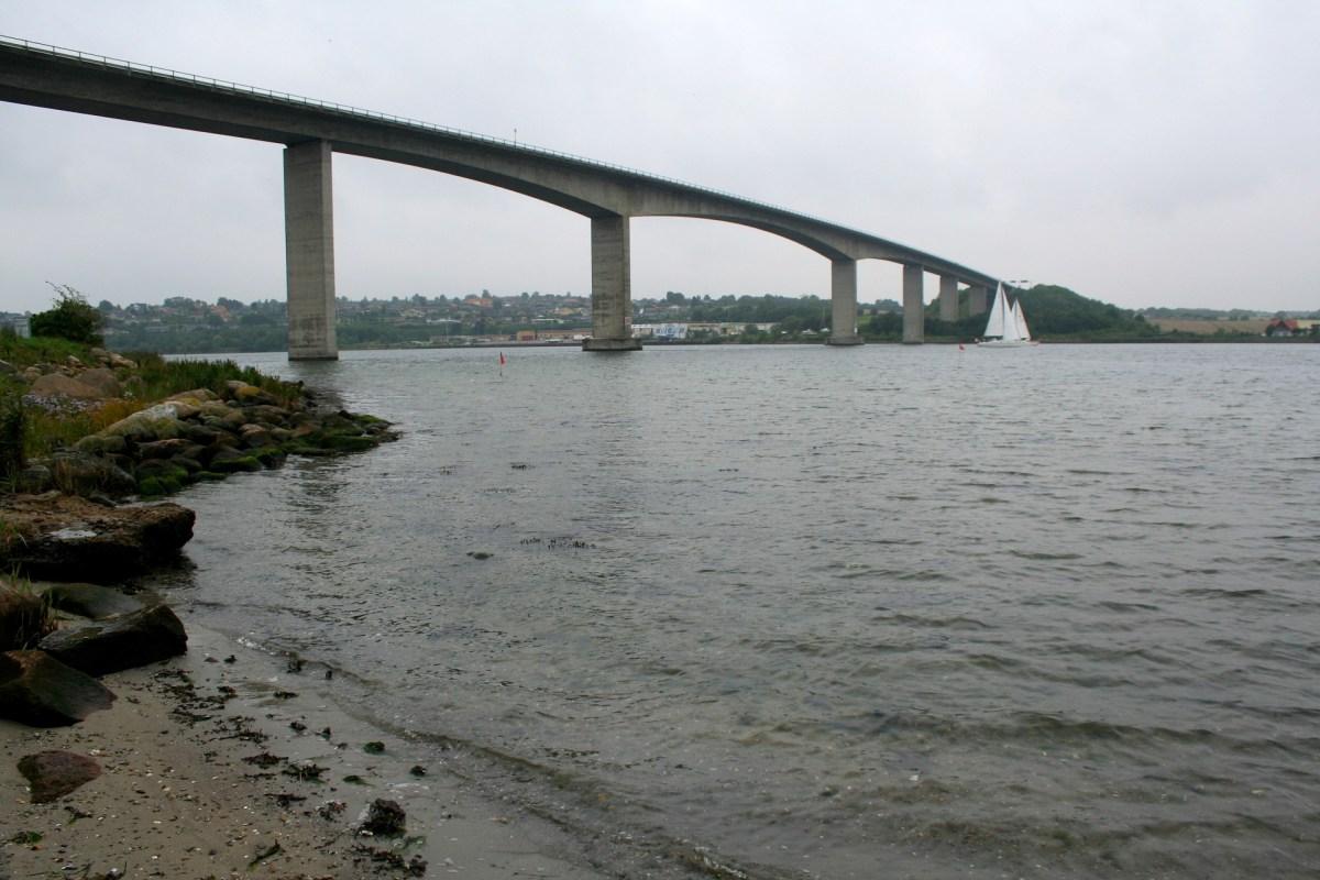 Angelplatz Brücke bei Sønderborg auf Insel Als