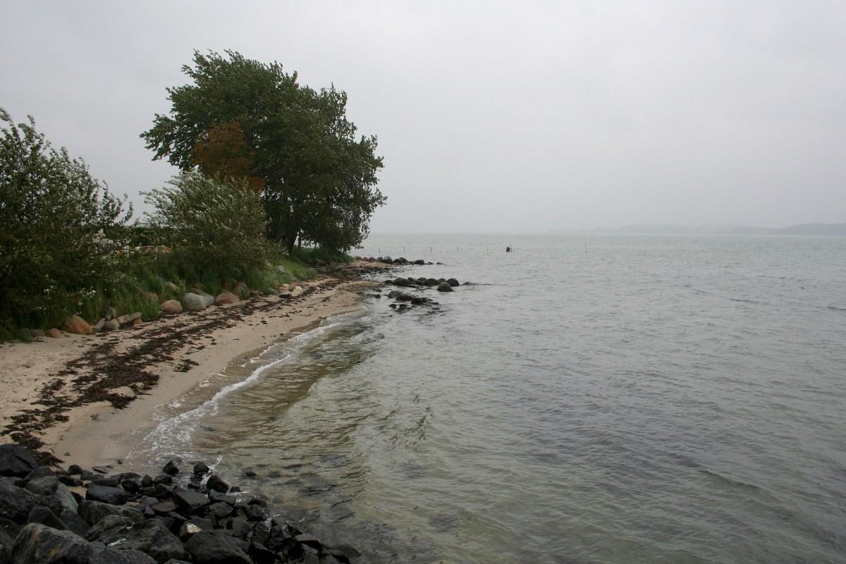 Angelplatz Hardeshøj auf der Insel Als