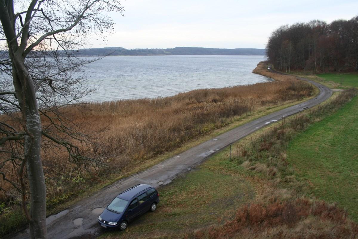 Angelplatz Stinesminde im Mariager Fjord