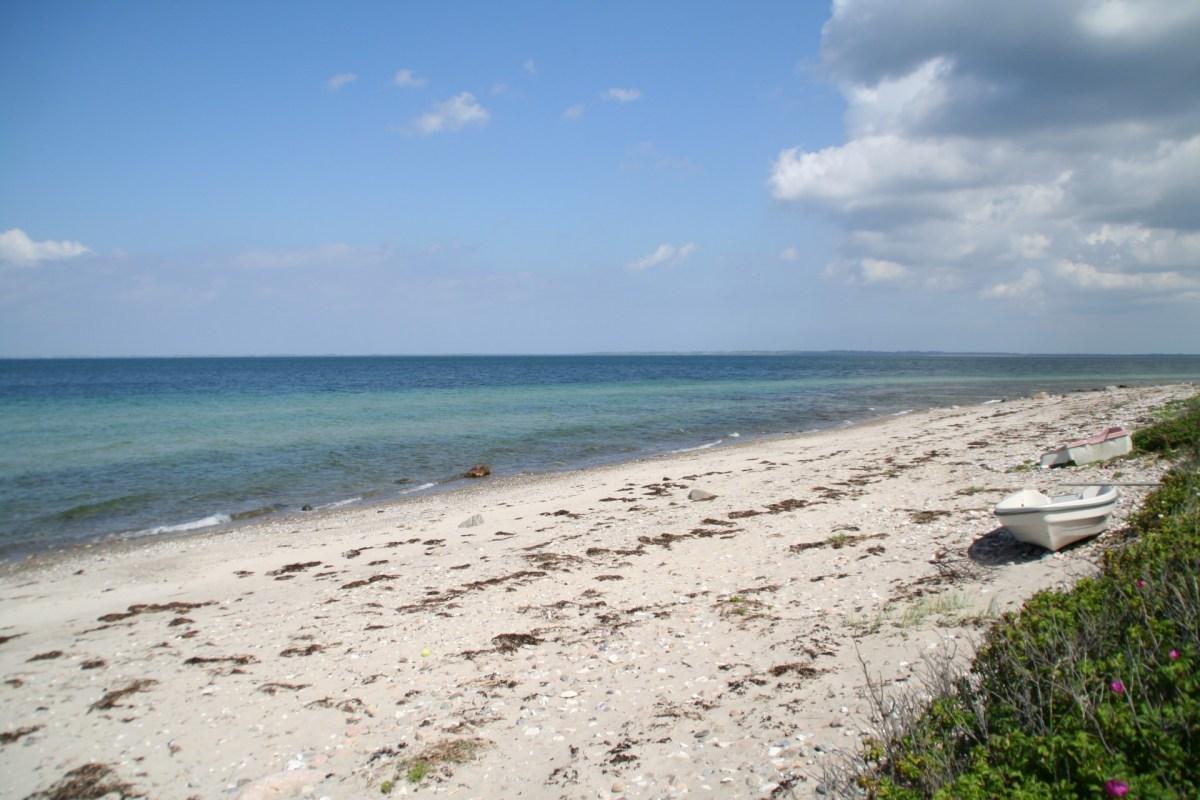 Angelplatz Veddinge Strand auf Seeland
