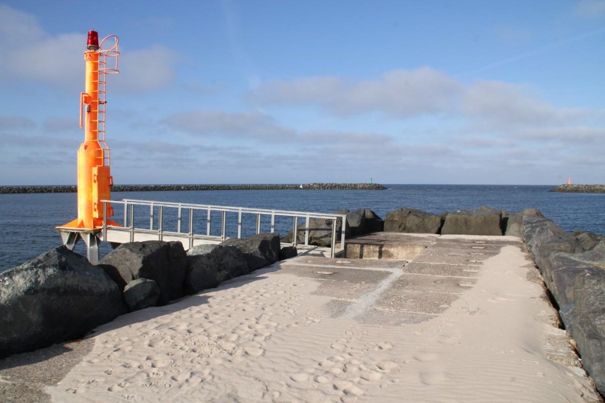 Angelplatz alte Nordmole von Hvide Sande