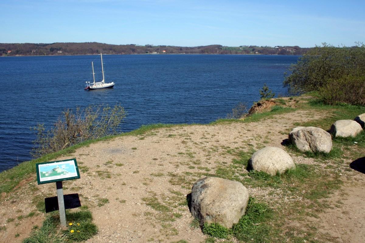 Platz zum Angeln am Vejlefjord