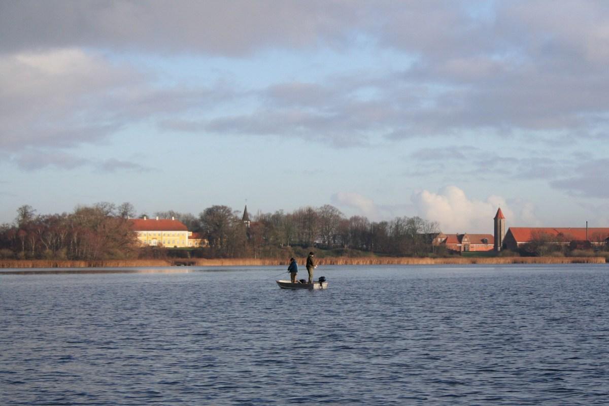 Angeln auf Lolland am Maribo Søndersø