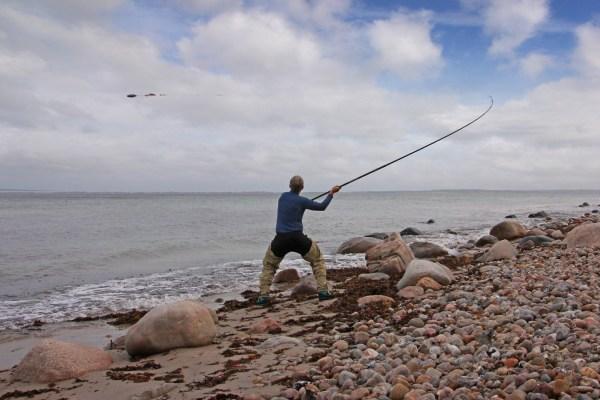 Brandungsangeln am Kattegat auf Seezunge und Steinbutt