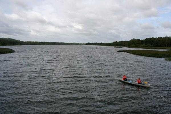 Der Silkeborg Langsø in der Silkeborger Seenplatte