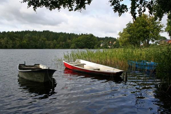 Der Almindsø bei Silkeborg