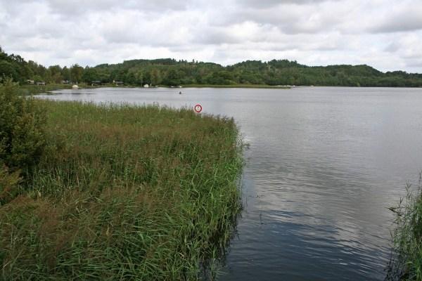 Der Birksø in der Silkeborger Seeplatte