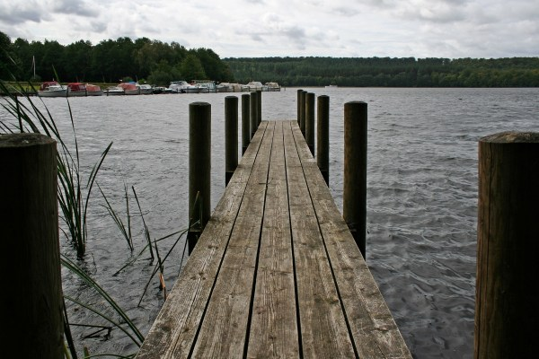 Der Brassø in der Silkeborger Seeplatte