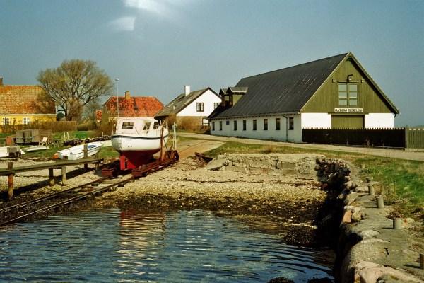 Angelplatz Langør auf Samsø