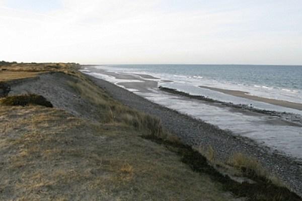 Angelplatz  Bantstenen Odde auf Læsø