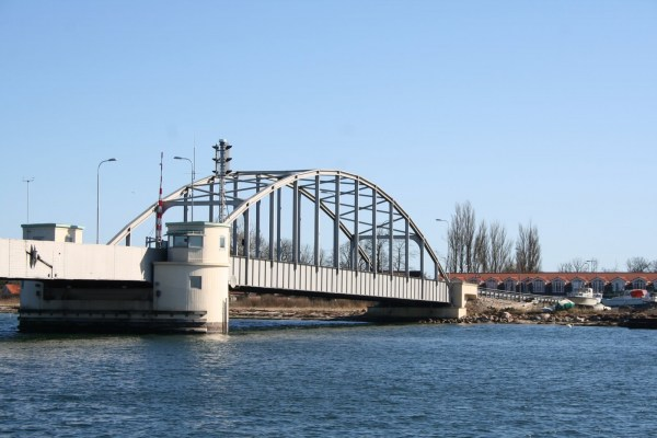 Angelplatz Guldborgsundbrücke auf Falster