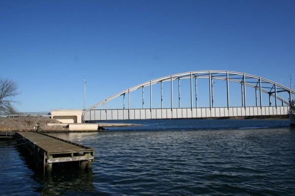 Angelplatz Guldborgsundbrücke auf Lolland