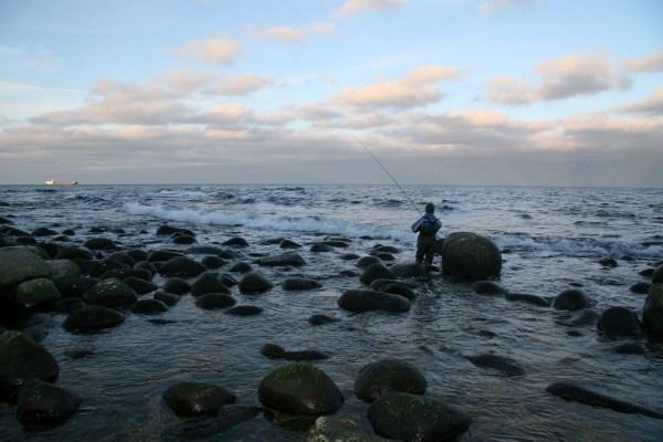 Angelplatz  Sæne Strand auf Bornholm