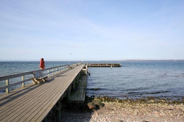 Angelplatz Ålsgårde Mole auf Seeland