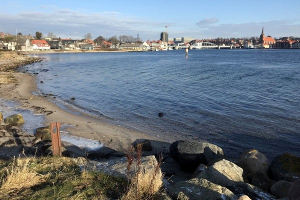 Angelplatz Dybbøl Strand bei Sønderborg