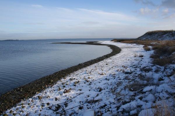 Angelplatz Vrald Odde am Limfjord an der Venø-Bucht im Limfjord