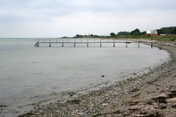 Angelplatz Havnbjerg Strand auf der Insel Als