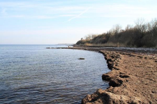 Angelplatz Købingsmark Strand auf der Insel Als