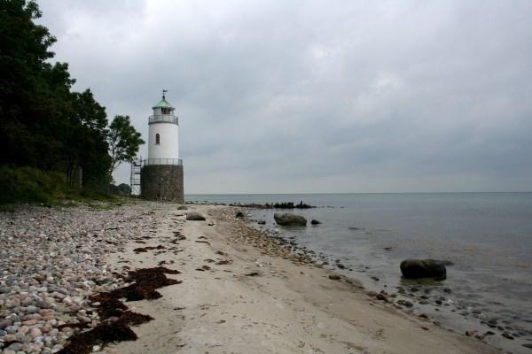 Leuchtturm Taksensand auf der Insel Als