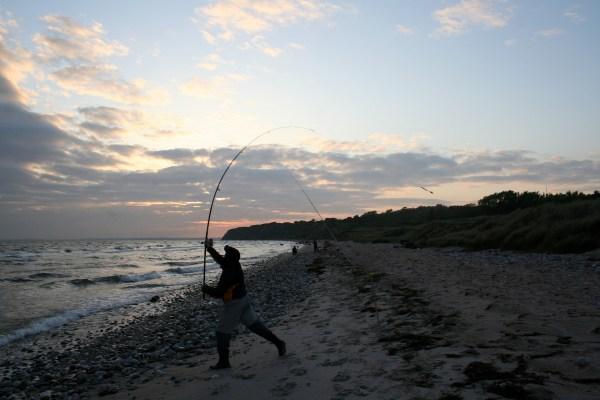 Angelplatz Ristinge Strand auf Langeland