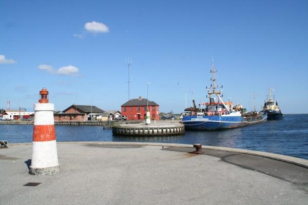 Angelplatz Hals Havn am Limfjord