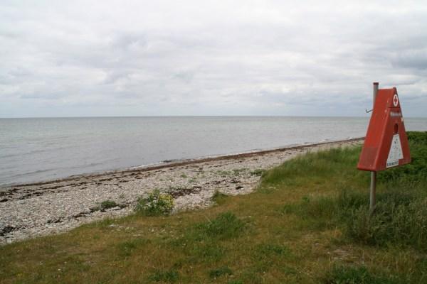 """Angelplatz """"Den øffentlige Strand"""" auf Sjællands Odde"""