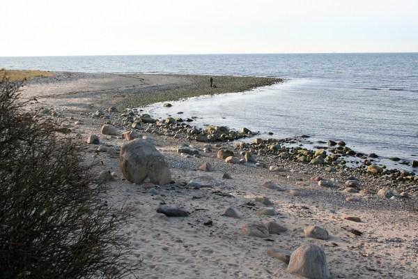 Angelplatz Udsholt Strand auf Seeland