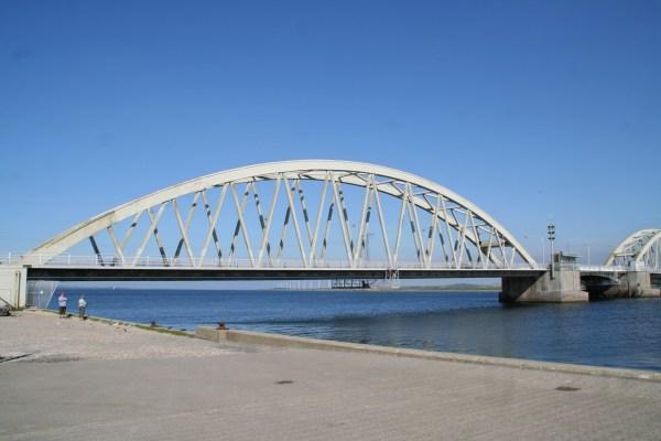 Angelplatz Aggersund Nord an der Aggersundbrücke am Limfjord