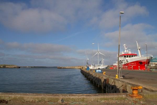 Angelplatz Pier 1 am Nordhafen Hvide Sande