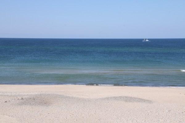 Angeln in der Nordsee beim Holmen