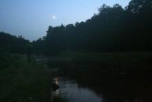 Nachtangeln an der Skjern Au