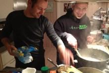 Kochen im Ferienhaus auf Møn