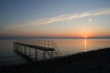 Sonnenuntergang vor Sjællands Odde