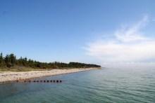 Südküste am Ferienhausgebiet von Sjællands Odde