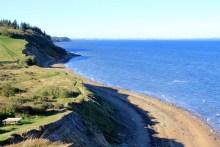 Nordküste der Insel Fur im Limfjord